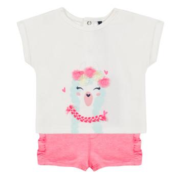 Odjeća Djevojčica Dječji kompleti 3 Pommes JULIEN Ružičasta