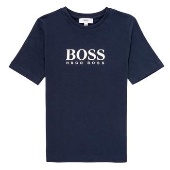Odjeća Dječak  Majice kratkih rukava BOSS MARIA Blue