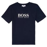 Odjeća Dječak  Majice kratkih rukava BOSS PILIO Blue