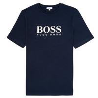 Odjeća Dječak  Majice kratkih rukava BOSS ELIO Blue