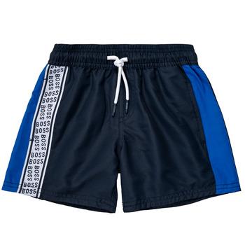 Odjeća Dječak  Bermude i kratke hlače BOSS MOZEL Blue