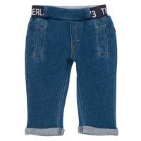 Odjeća Dječak  Hlače s pet džepova Timberland VALENTIN Blue