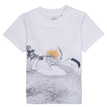 Odjeća Dječak  Majice kratkih rukava Timberland ANTONIN Bijela