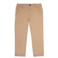 Odjeća Dječak  Chino hlačei hlače mrkva kroja Timberland ANAS Bijela