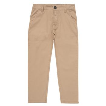 Odjeća Dječak  Chino hlačei hlače mrkva kroja Timberland HECTOR Bež