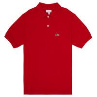Odjeća Dječak  Polo majice kratkih rukava Lacoste WILLS Red