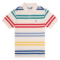 Odjeća Dječak  Polo majice kratkih rukava Lacoste HENRI Multicolour