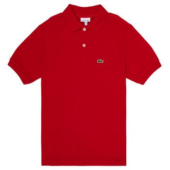 Odjeća Dječak  Polo majice kratkih rukava Lacoste ANAICK Red