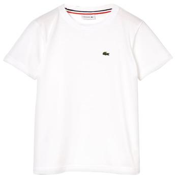 Odjeća Dječak  Majice kratkih rukava Lacoste ALIZE Bijela