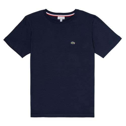 Odjeća Dječak  Majice kratkih rukava Lacoste JUSTYNE Blue