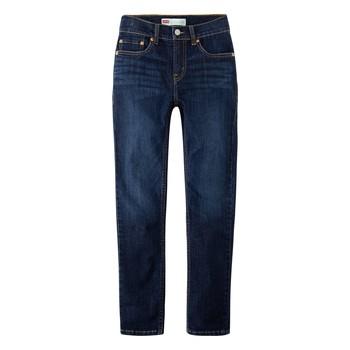 Odjeća Dječak  Slim traperice Levi's 512 SLIM TAPER Blue