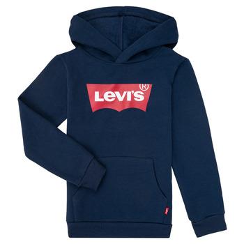 Odjeća Dječak  Sportske majice Levi's BATWING SCREENPRINT HOODIE Blue