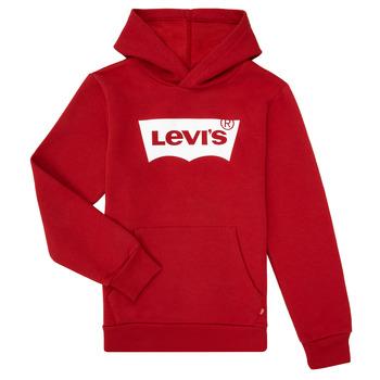 Odjeća Dječak  Sportske majice Levi's BATWING SCREENPRINT HOODIE Red