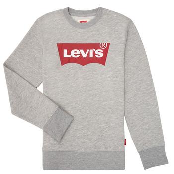 Odjeća Dječak  Sportske majice Levi's BATWING CREWNECK Siva