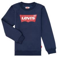 Odjeća Dječak  Sportske majice Levi's BATWING CREWNECK Blue