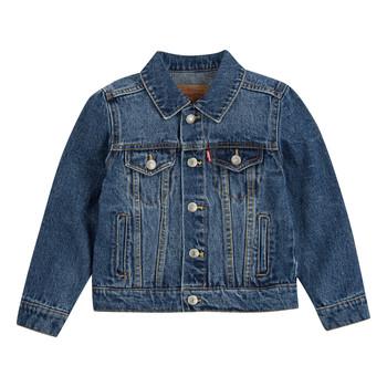Odjeća Dječak  Traper jakne Levi's TRUCKER JACKET Blue