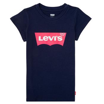 Odjeća Djevojčica Majice kratkih rukava Levi's BATWING TEE Blue