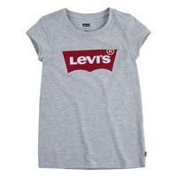 Odjeća Djevojčica Majice kratkih rukava Levi's BATWING TEE Siva