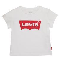 Odjeća Dječak  Majice kratkih rukava Levi's BATWING TEE Bijela