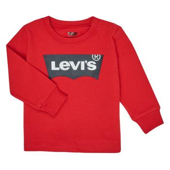 Odjeća Dječak  Majice dugih rukava Levi's BATWING TEE LS Red