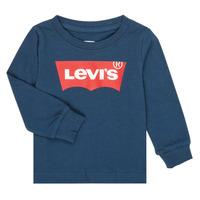 Odjeća Dječak  Majice dugih rukava Levi's BATWING TEE LS Blue