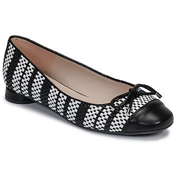 Obuća Žene  Balerinke i Mary Jane cipele Fericelli MARYA Crna / Bijela