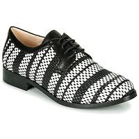 Obuća Žene  Derby cipele Fericelli MILEYNE Crna / Bijela