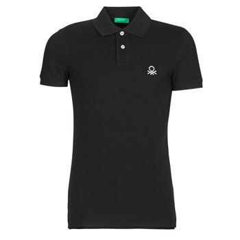 Odjeća Muškarci  Polo majice kratkih rukava Benetton MARNELLI Crna
