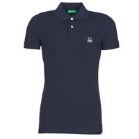 Odjeća Muškarci  Polo majice kratkih rukava Benetton MARAKY Blue