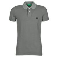 Odjeća Muškarci  Polo majice kratkih rukava Benetton  Siva