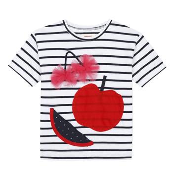 Odjeća Djevojčica Majice kratkih rukava Catimini KUSY Bijela