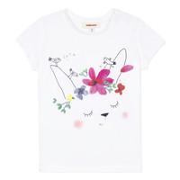 Odjeća Djevojčica Majice kratkih rukava Catimini MAE Bijela