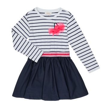 Odjeća Djevojčica Kratke haljine Catimini BASILE Bijela