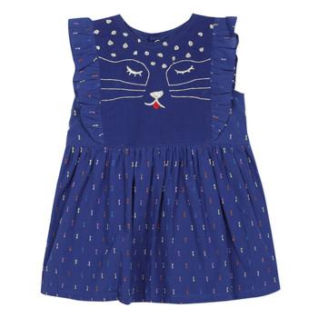Odjeća Djevojčica Kratke haljine Catimini CHARLES Blue