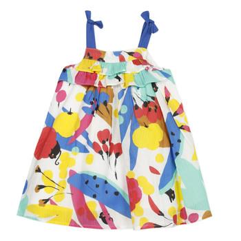 Odjeća Djevojčica Kratke haljine Catimini THEO Bijela