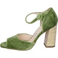 Obuća Žene  Sandale i polusandale Olga Rubini sandali velluto Verde