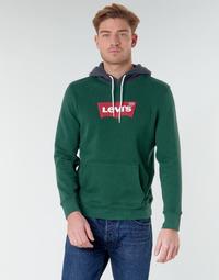 Odjeća Muškarci  Sportske majice Levi's MODERN HM HOODIE Zelena / Siva