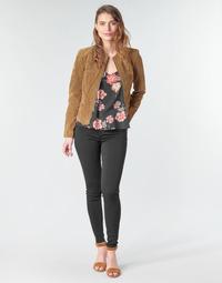 Odjeća Žene  Hlače s pet džepova Vila VICOMMIT Crna