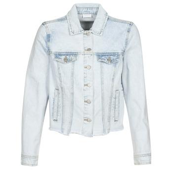 Odjeća Žene  Traper jakne Vila VIANNABEL Blue / Svijetla