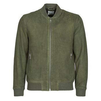 Odjeća Muškarci  Kožne i sintetičke jakne Selected SLHB01 Kaki