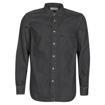 Odjeća Muškarci  Košulje dugih rukava Diesel D-BER-P Crna