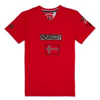 Odjeća Dječak  Majice kratkih rukava Geographical Norway JIRI Red