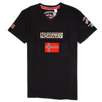 Odjeća Dječak  Majice kratkih rukava Geographical Norway JIRI Crna