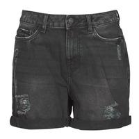 Odjeća Žene  Bermude i kratke hlače Noisy May NMSMILEY Crna