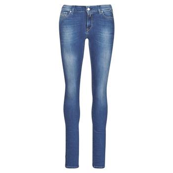 Odjeća Žene  Skinny traperice Replay LUZ Blue / Zagasita