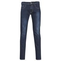 Odjeća Muškarci  Slim traperice Replay ANBASS Blue / Zagasita