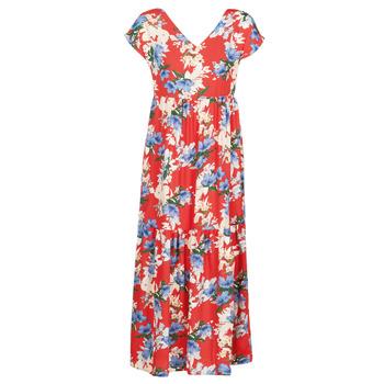 Odjeća Žene  Duge haljine Betty London MALIN Red / Bijela / Blue