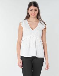 Odjeća Žene  Topovi i bluze Betty London MOUDINE Bijela / Zlatna