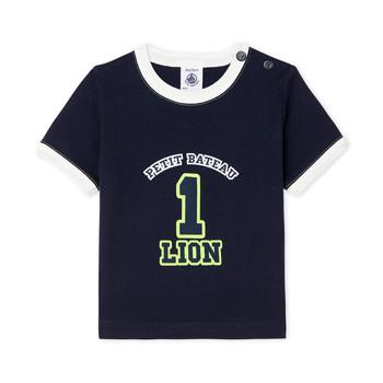 Odjeća Dječak  Majice kratkih rukava Petit Bateau FUDGE Blue
