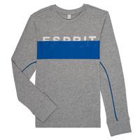 Odjeća Dječak  Majice dugih rukava Esprit FABIOLA Siva